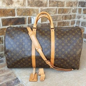 Louis Vuitton Bandouliere Keepall 55/Lock No Key